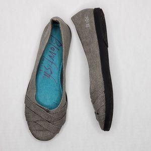 Blowfish Slip On Shoes Gray Size 8